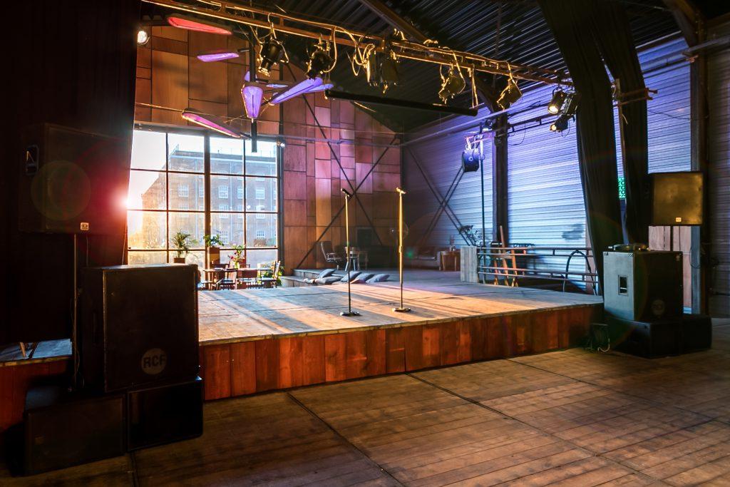 EM2 Groningen evenementenlocatie kleine zaal podium