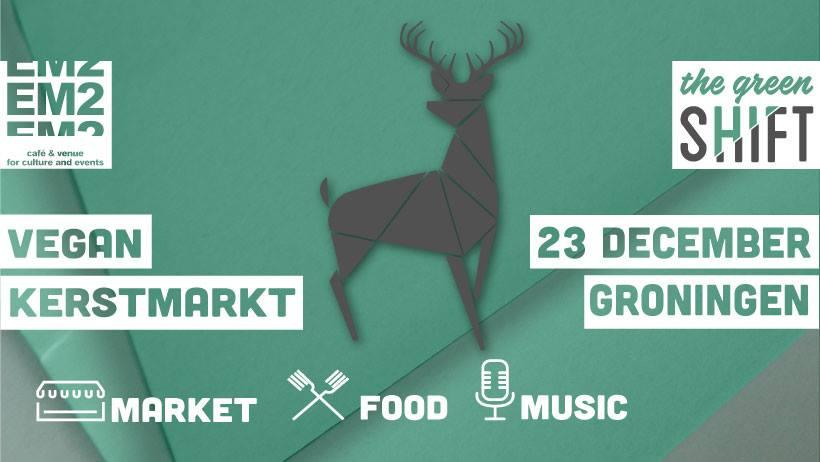 Eerste vegan Kerstmarkt van Groningen