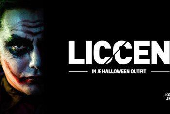 Liccen in je Halloween Outfit - Kopjek - EM2 Groningen