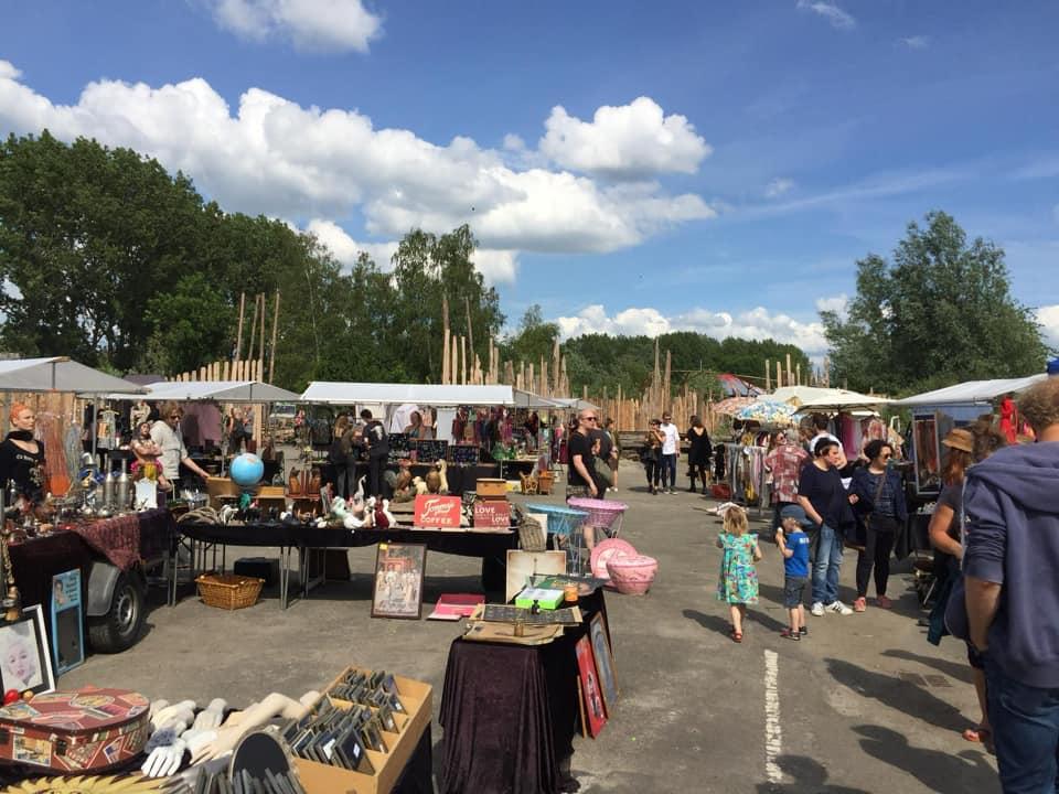 Suikermarkt bij EM2 Groningen